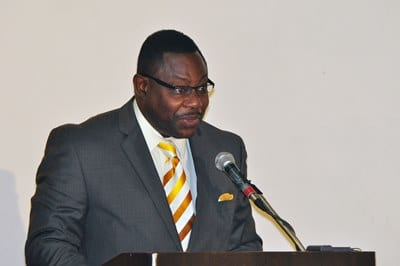 Minister of Social Care, Constituency Empowerment and Community Development, Steve Blackett. (FP)