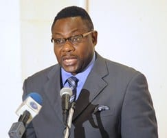 Acting Minister of Foreign Affairs and Foreign Trade, Steve Blackett. (FP)
