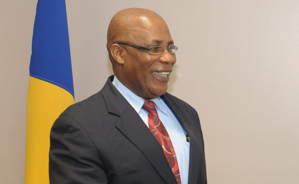 Minister of the Environment and Drainage, Dr. Denis Lowe. (FP)