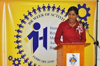 Labour Minister, Senator Dr. Esther Byer Suckoo. (FP)