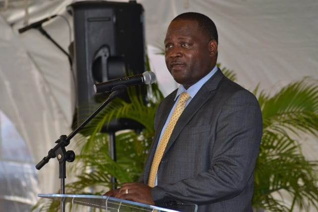 Minister of Industry, International Business, Commerce and Small Business Development, Donville Inniss. (FP)