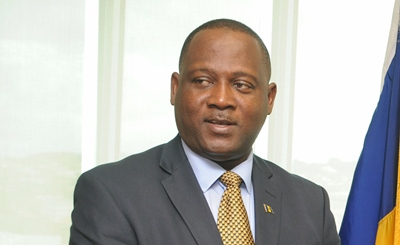 International Business Minister, Donville Inniss. (FP)