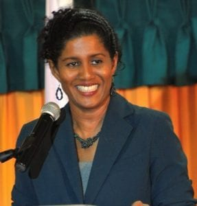 Minister of Labour, Senator Dr. Esther Byer Suckoo. (FP)