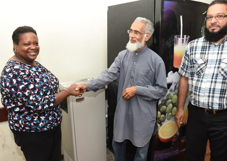 Muslim Association Gives To Winston Scott