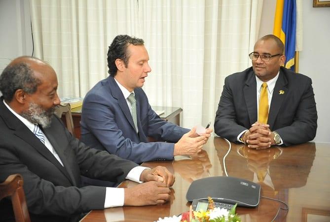 New Mexican Envoy Meets Acting PM