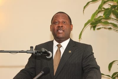 Industry Minister, Donville Inniss. (FP)