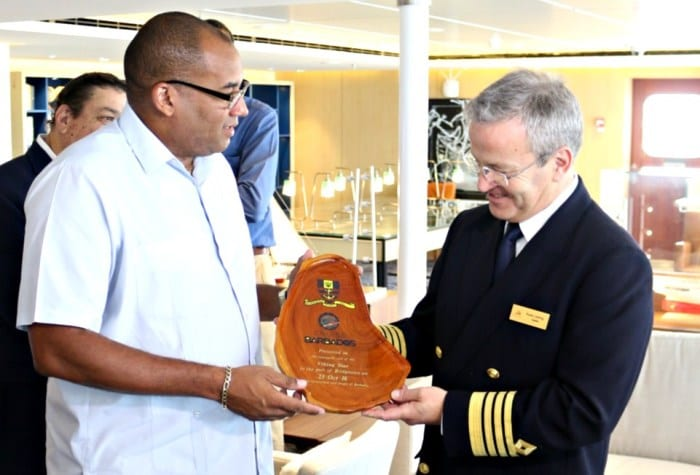 Barbados Hoping To Home Port Viking Star