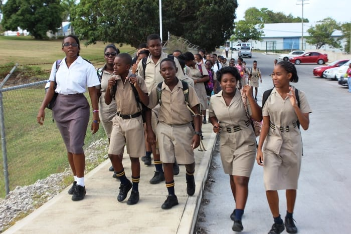 Combermere students. (FP)