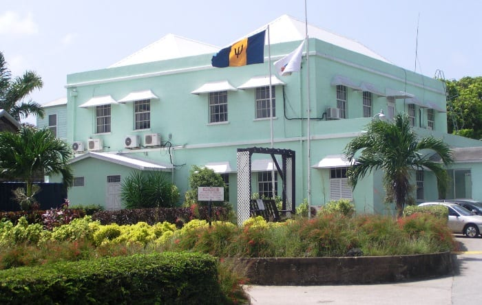 The National Conservation Commission at Codrington, St. Michael. (Photograph compliments the NCC)