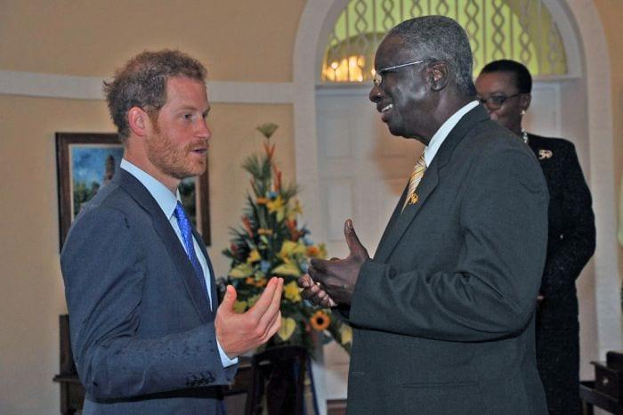 Prince Henry Pays PM Stuart A Courtesy Call