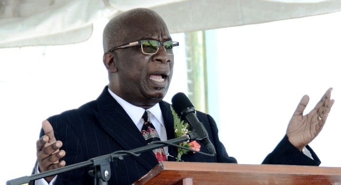 Minister of Education, Ronald Jones. (FP)