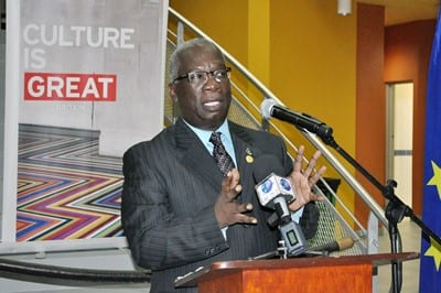 Minister of Education, Ronald Jones. (FP)