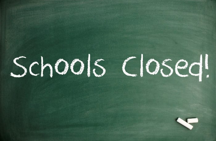 Image result for schools closed