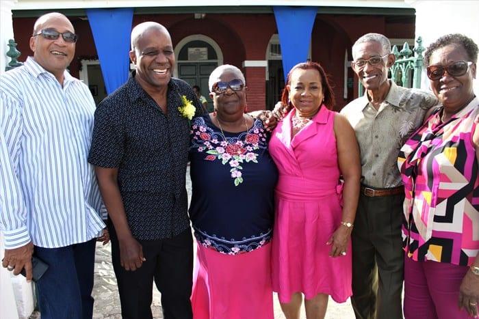 BGIS Staff Applauds Retiring Colleague