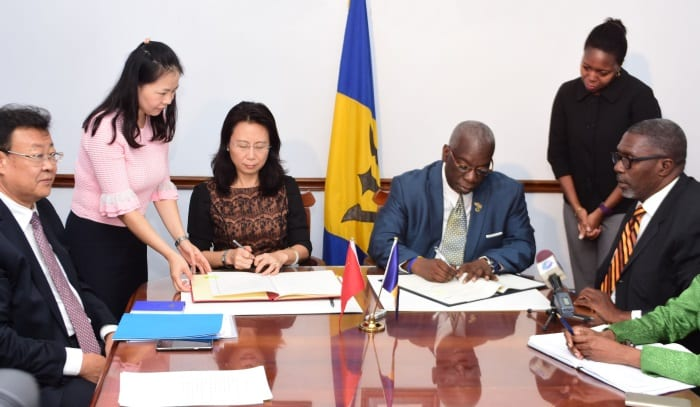 Barbados & China Sign Agreement