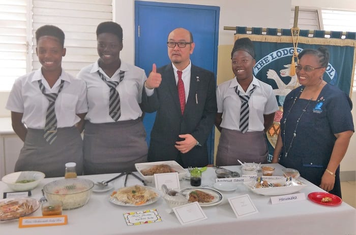 Japan's Envoy Visits Lodge School