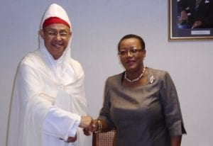 Senator McClean Meets Morocco's Envoy
