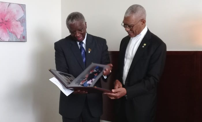 Barbados & Guyana Embrace Links