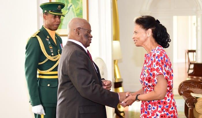 Four Barbadians Receive Honours