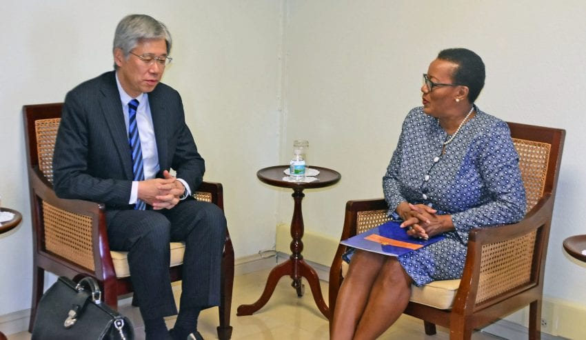 LAC Director General Meets Foreign Minister