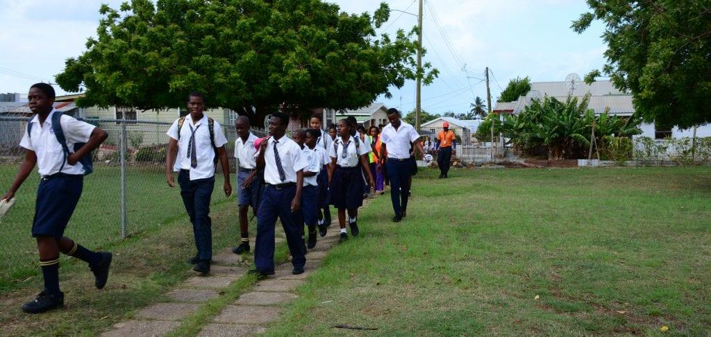 Students Praised Following Evacuation Drill