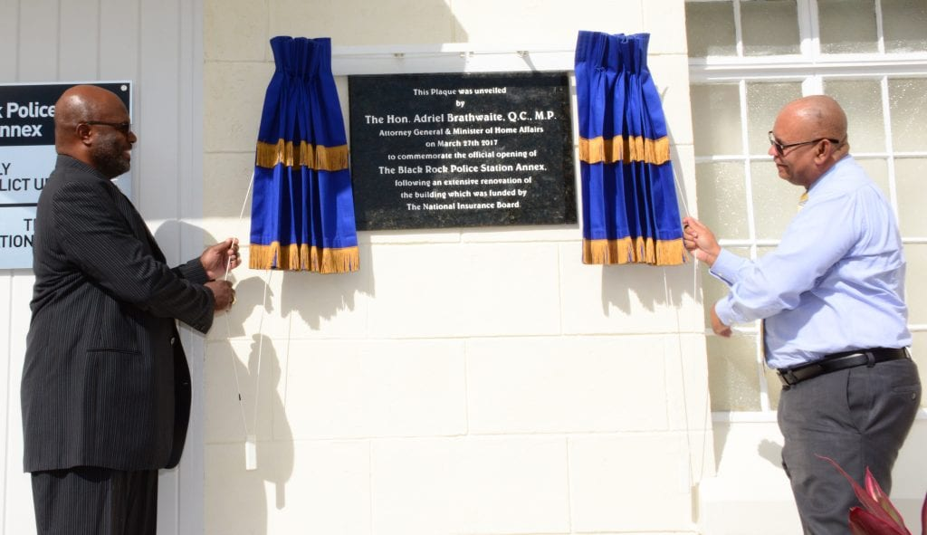 Police Station Annex Officially Opened