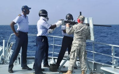 Live Firing Exercise At Sea On June 11 & 15