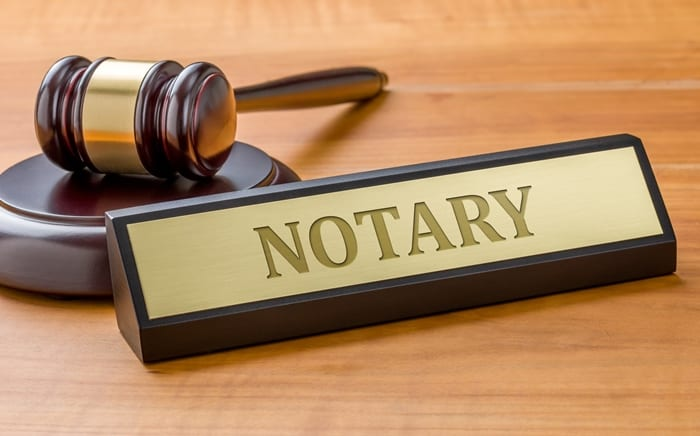 Notarisation Of Documents & Affixing Of Apostilles