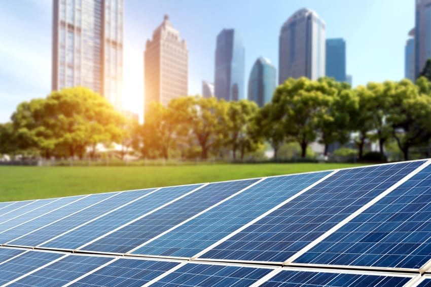 Solar Power For Forty Public Buildings