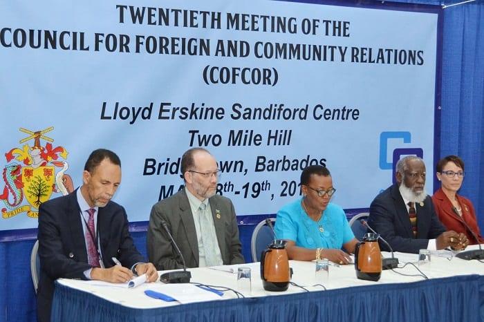 COFCOR Focused On Strengthening CARICOM