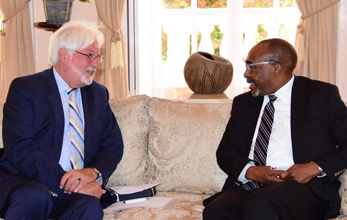Germany Seeking Barbados' UN Support