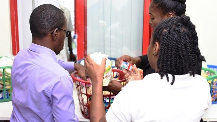 Revenue Authority Donates To Food Bank