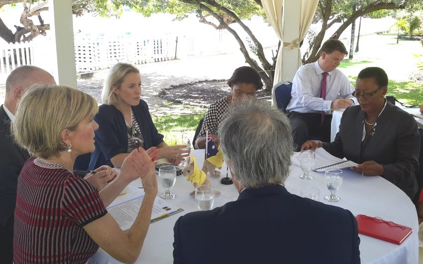 Barbados & Australia Hold Discussions