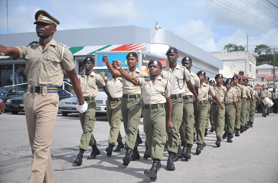 Cadets To Report To BDF Headquarters