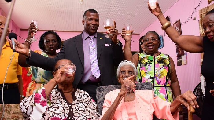 Super-Centenarian Celebrates Birthday