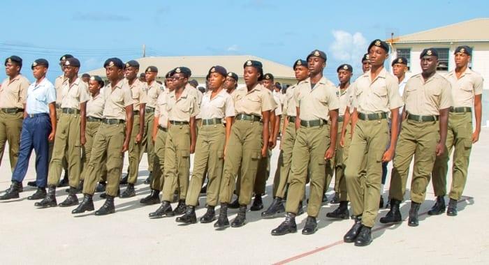 Commandant's Parade On Saturday