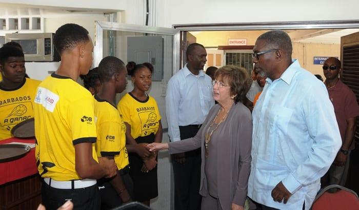 US Envoy Impressed With BVTB Students