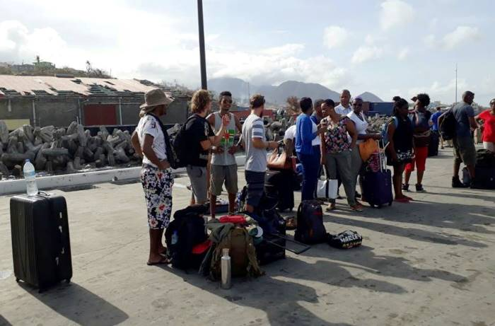 Over 100 Evacuated From Dominica
