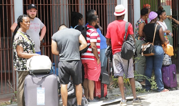 Trapped Visitors Want To Leave Dominica