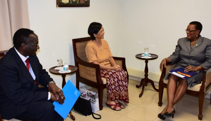 Minister Bids Farewell To UNICEF Rep