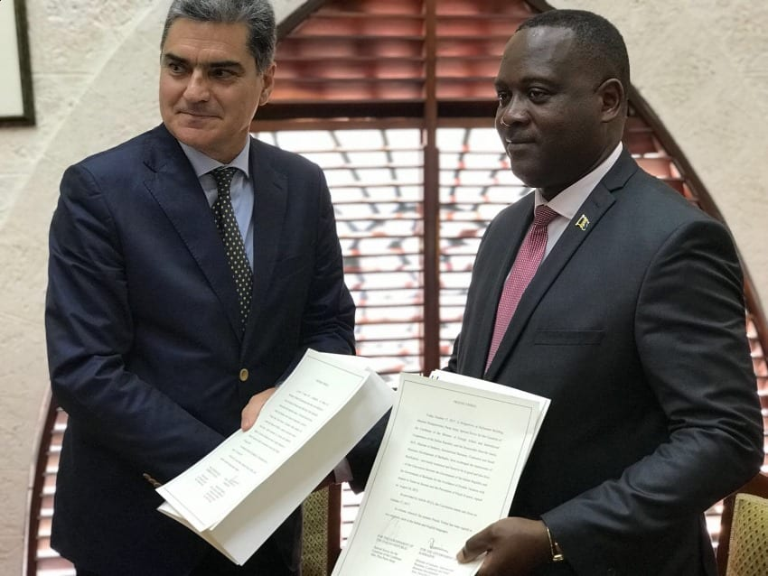 Stronger Ties For Barbados & Italy