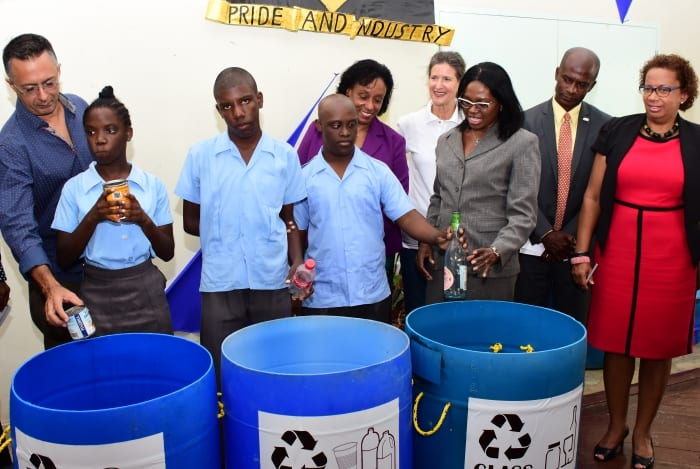 Recycling Project Launched At Ann Hill