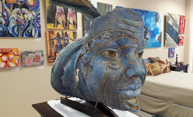 Artists' Exhibition At Sky Mall To Travel To St. Croix