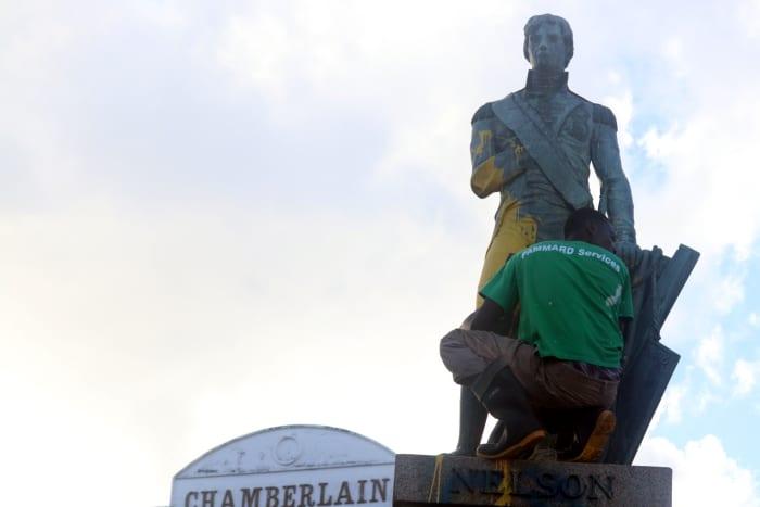 Lashley Condemns Nelson's Defacing