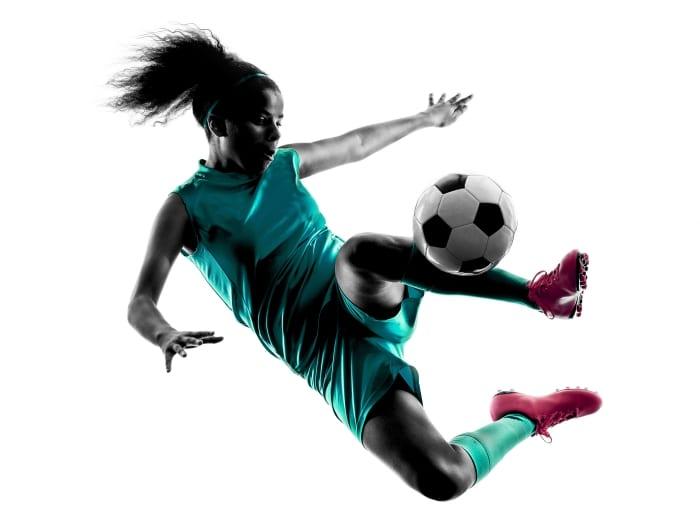Females Taking Centre Field In U17 Football