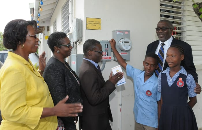 St. Lucy Primary Schools Going Green