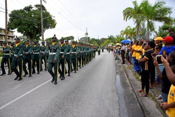 Parade From Garrison To Bridgetown