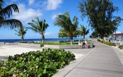 CZMU Undertaking Cleaning Of Boardwalk