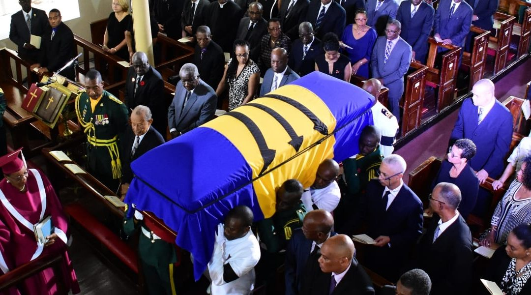Sir Clifford Husbands Laid To Rest