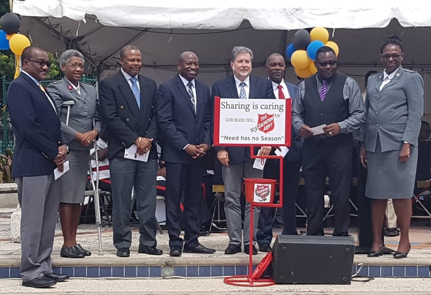 Salvation Army Kettle Appeal Gets Going